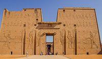 Voyage Egypte, croisière sur le nil, le Temple d'Edfou
