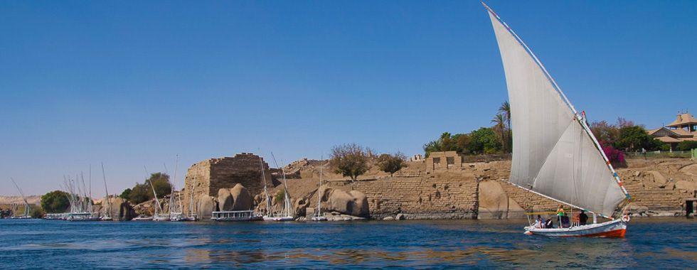 Voyage Egypte, croisière sur le nil, les bords du Nil